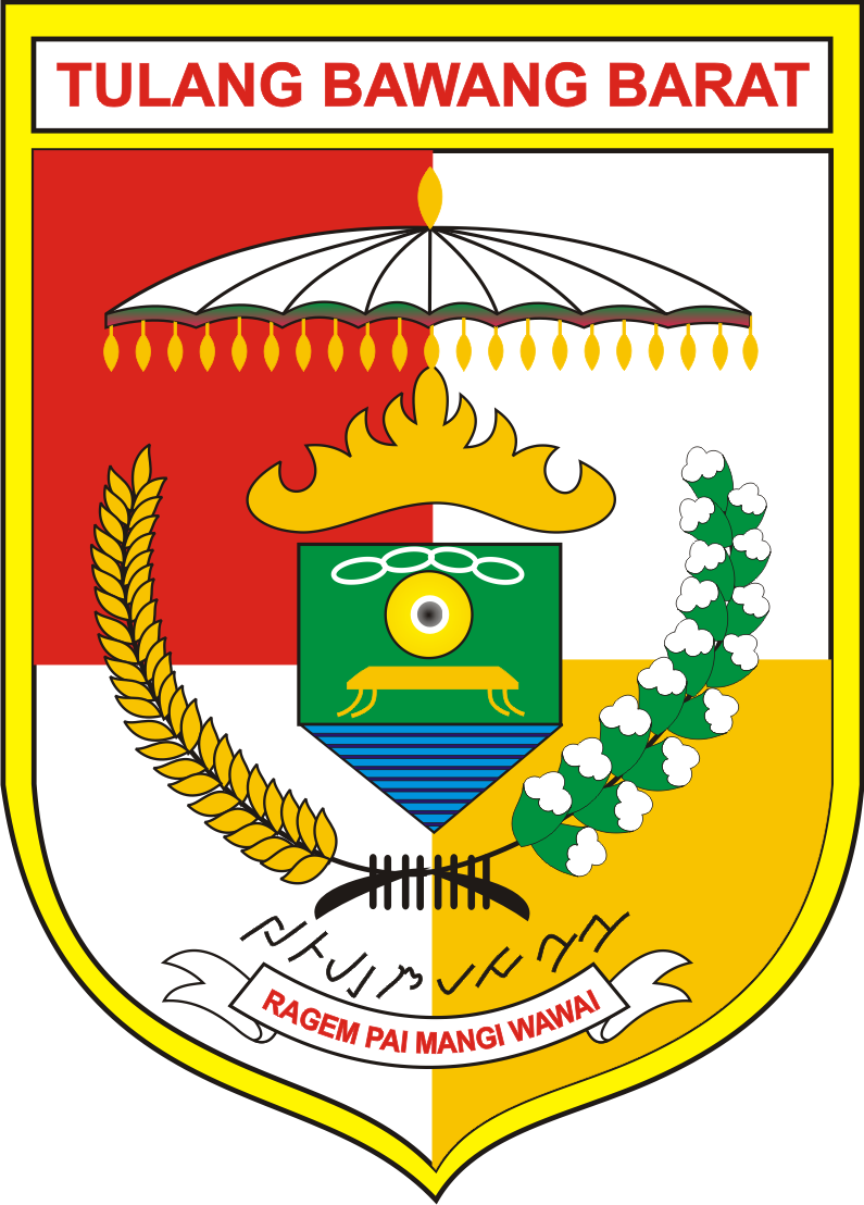 File:Lambang Kabupaten Tulang Bawang Barat.png - Barat PNG