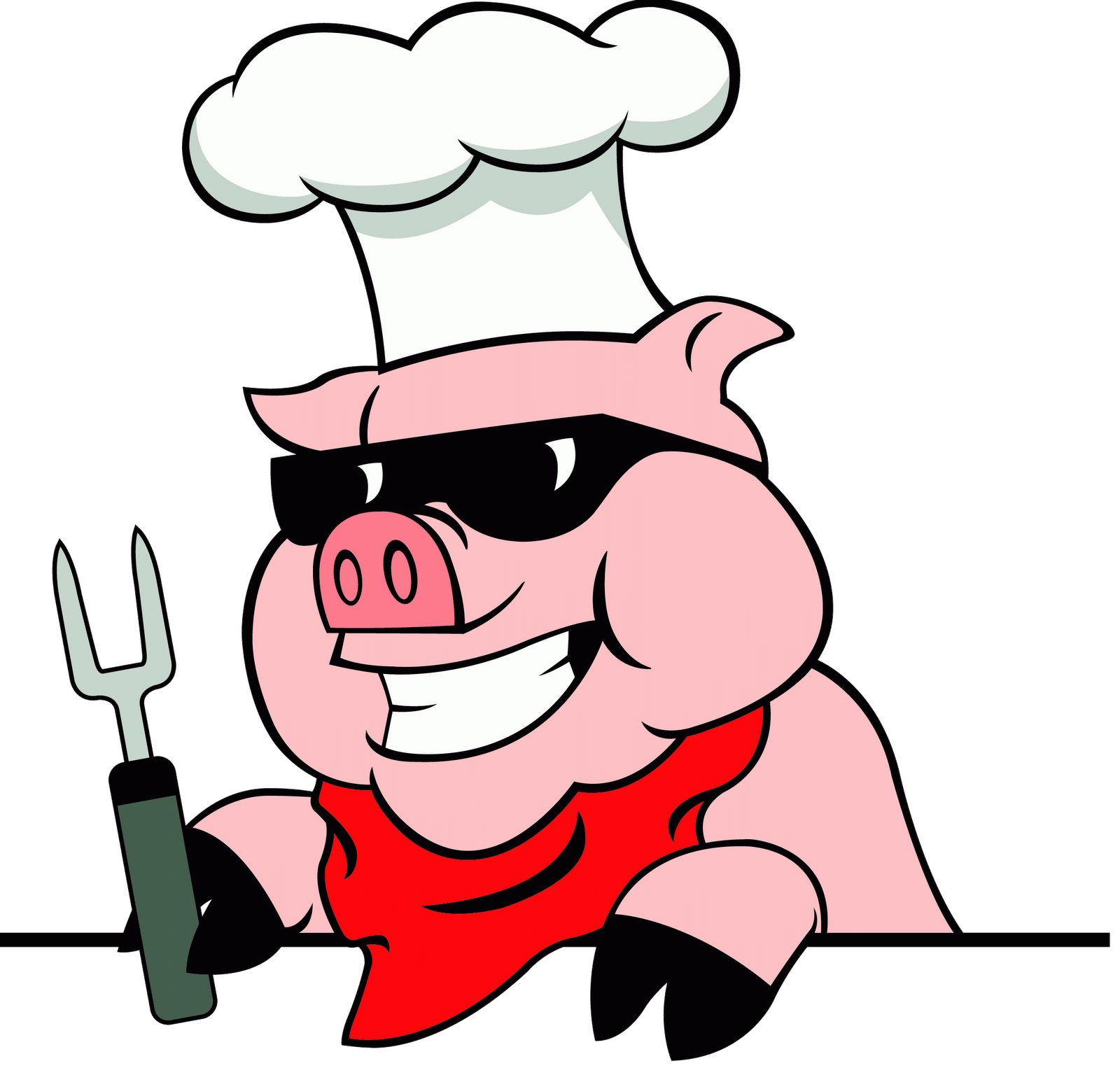 Barbecue Pig PNG