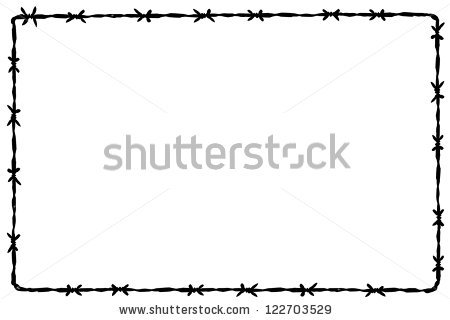 Barbed Wire PNG Border - 42079