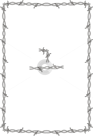 Barbed Wire PNG Border - 42080