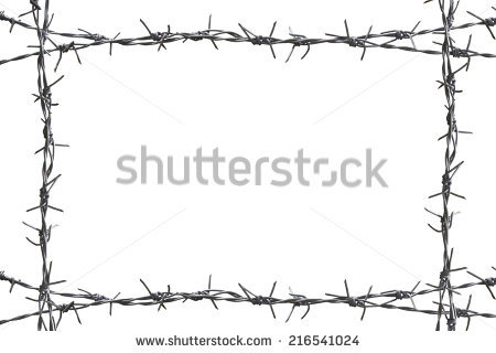 Barbed Wire PNG Border - 42072