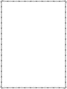 Barbed Wire PNG Border - 42067