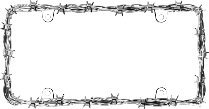 Barbed Wire PNG Border - 42078