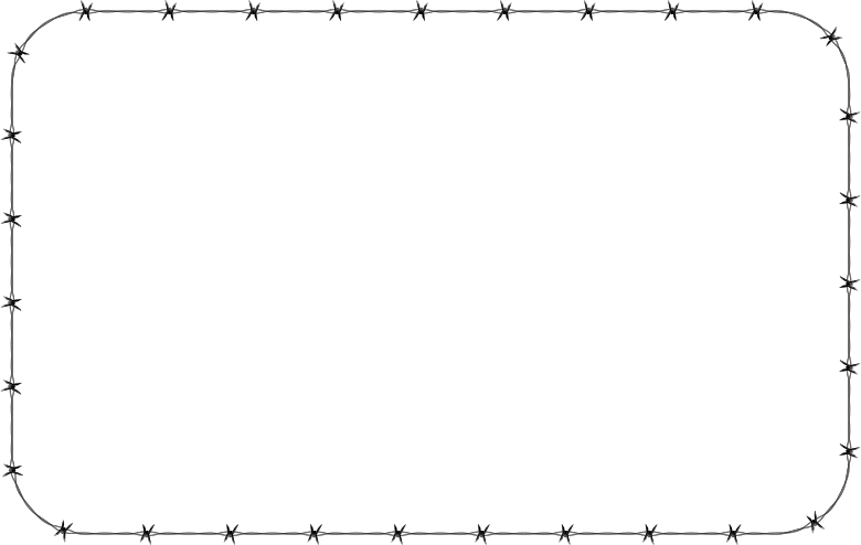 Barbed Wire PNG Border - 42077