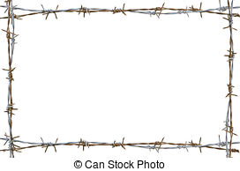 Barbed Wire PNG Border - 42075