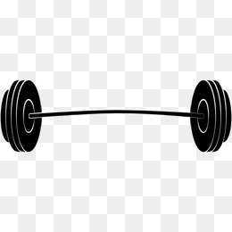 Flat barbell, Movement, Fitness, Weight PNG Image - Barbell HD PNG