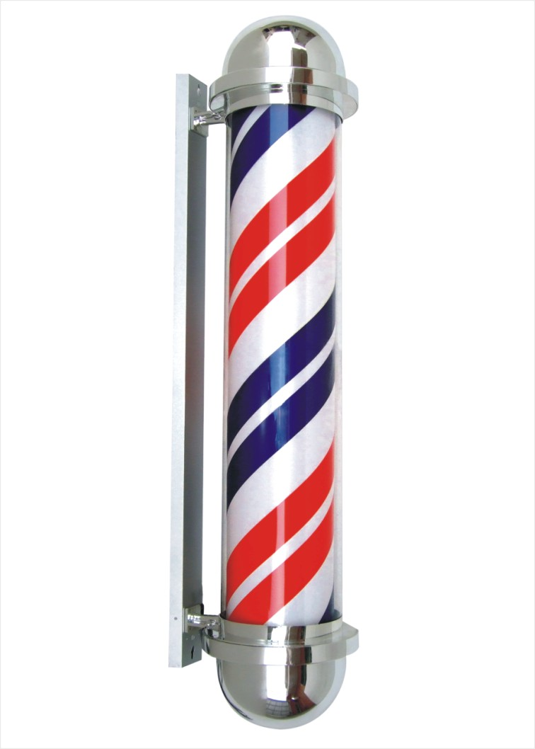 Barber Pole Vector - Clipart