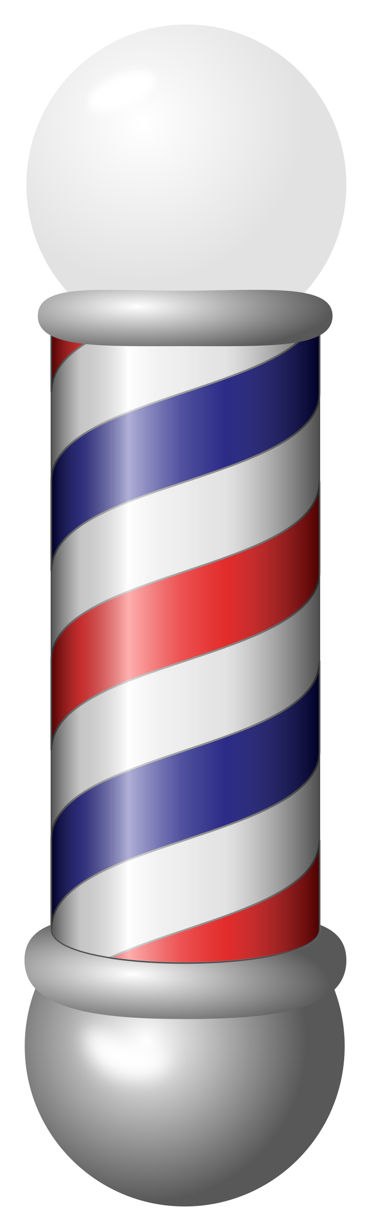 Clipart - barber pole - Barber Pole PNG HD - Barber PNG HD