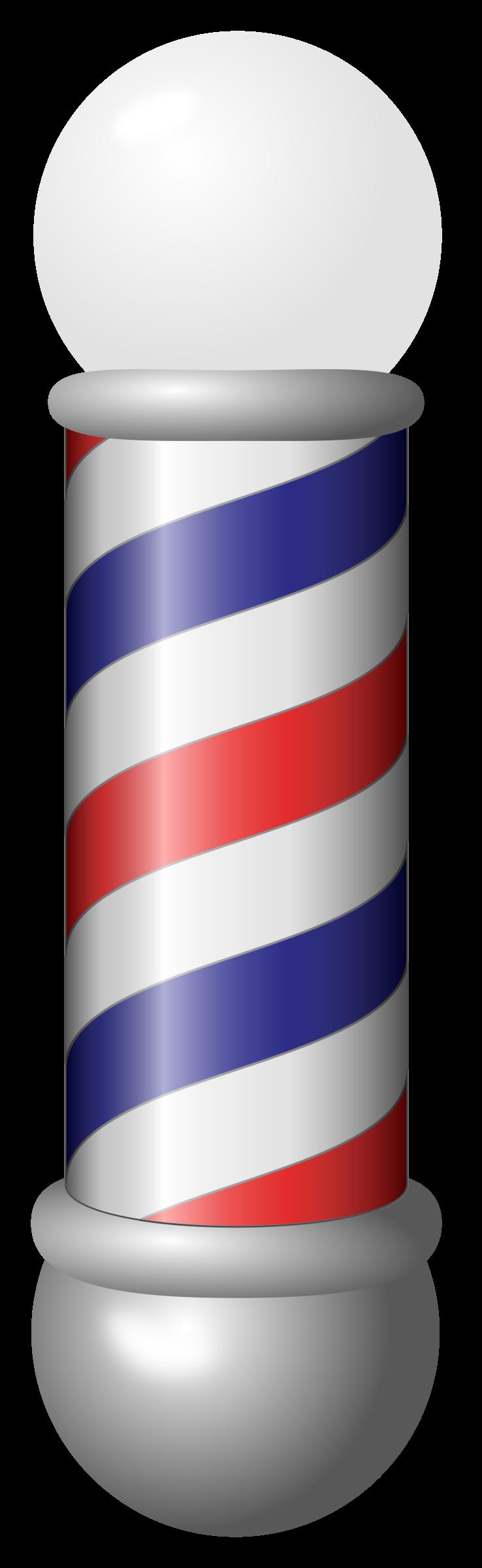 Clipart - Barber Pole - Barber Pole PNG HD - Barber PNG HD