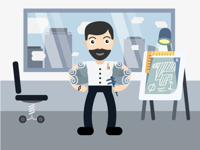 Vector Barber, HD, Vector, Beauty Free PNG And Vector - Barber PNG HD