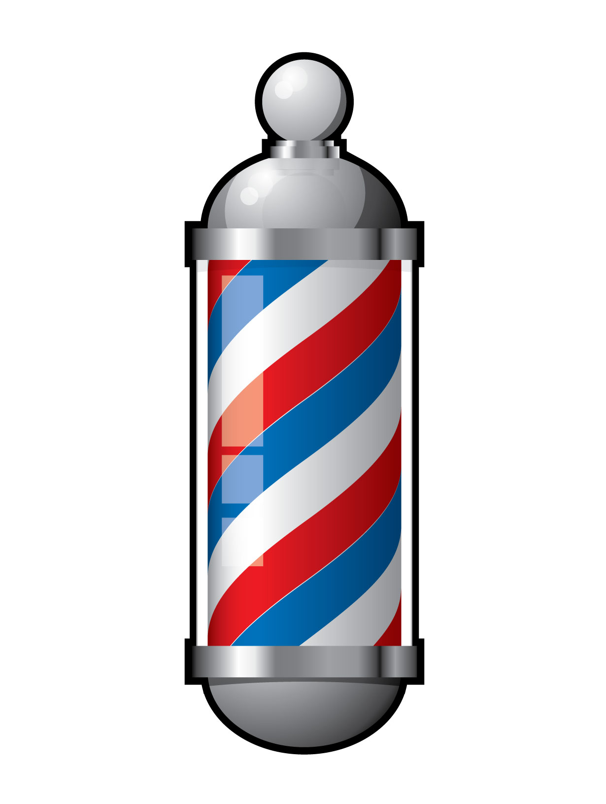 Barber Pole PNG HD