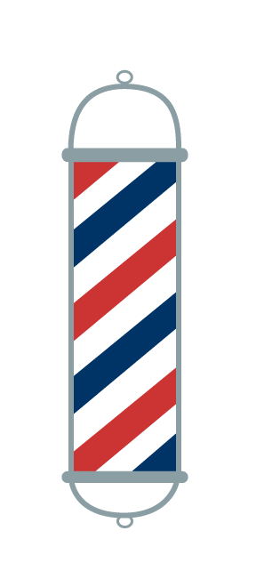 Barber Pole Png - Clipart library - Barber Pole PNG HD
