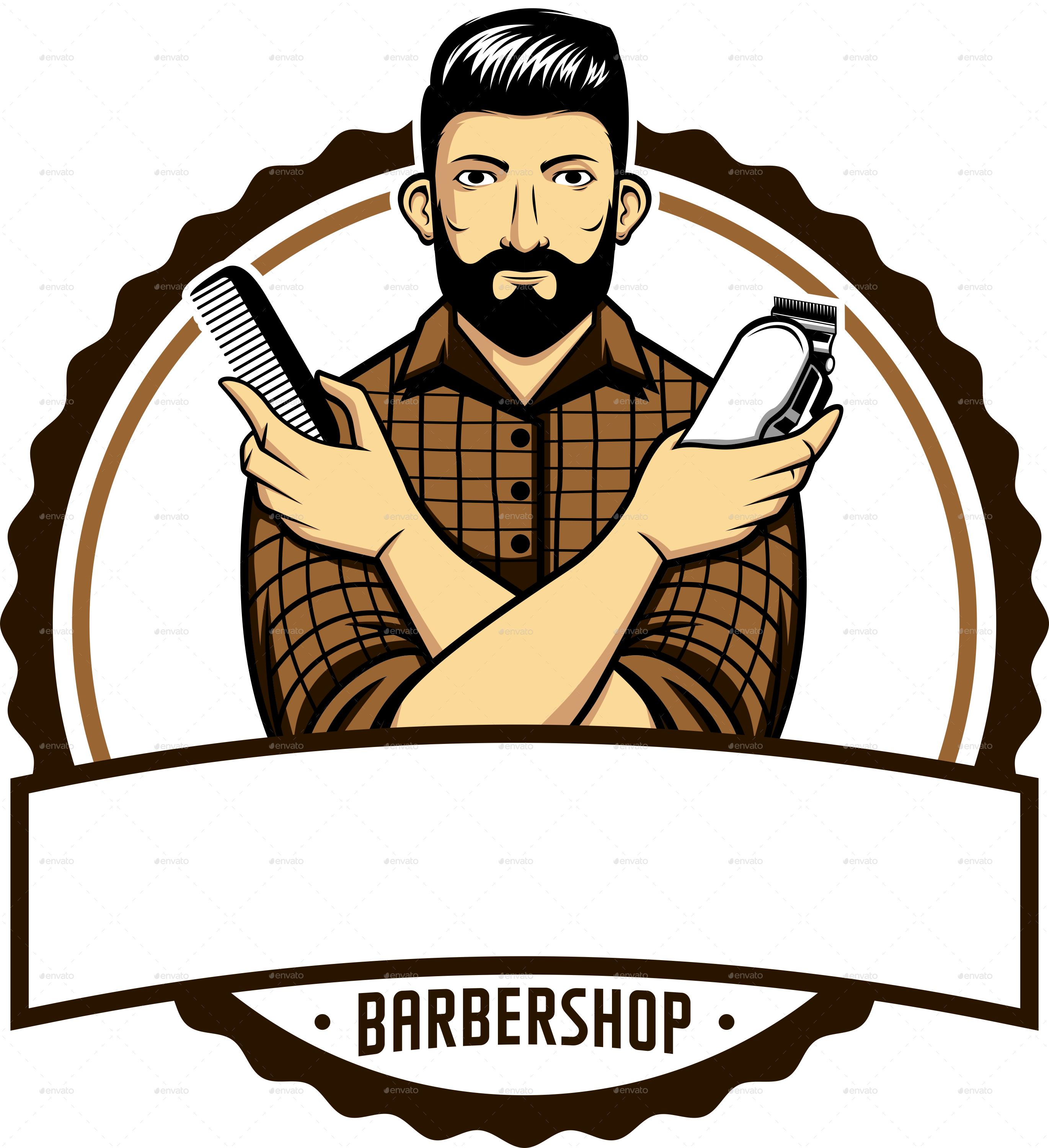 Barber Shop PNG