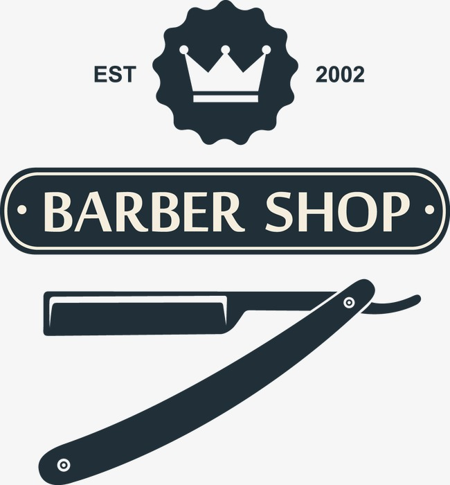 decorative elements barber shop, Decoration, Vector, Barbershop PNG and  Vector - Barber Shop PNG