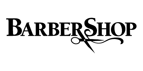 File:Barbershop film logo.png - Barber Shop PNG