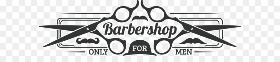 Logo Barbershop - Male barber shop logo - Barber Shop PNG