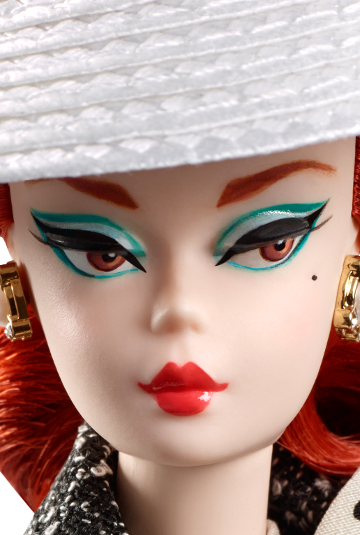 2017 Silkstone® Dolls. Black U0026 White Tweed Suit Barbie PlusPng.com  - Barbie Doll PNG Black And White