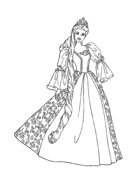 Barbie Clipart Black And White · Barbie Doll Cliparts - Barbie Doll PNG Black And White
