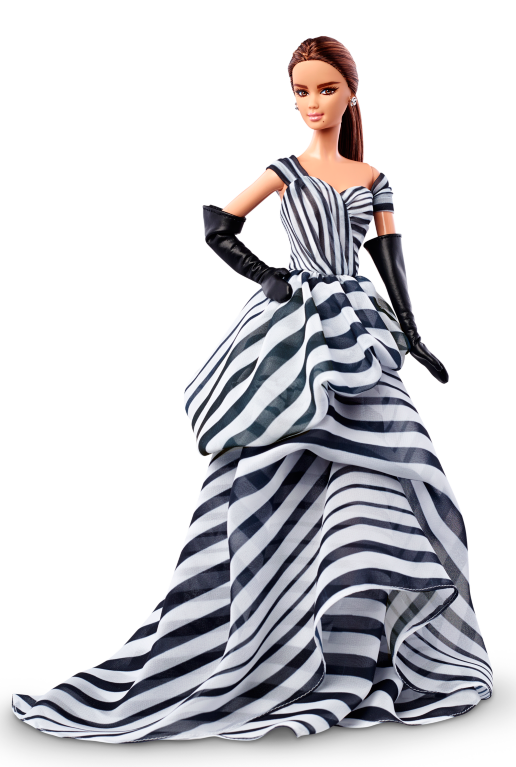 Barbie Doll PNG Black And White