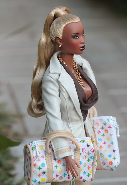 Many African-Americans find the dollu0027s appearance offensive, stating that  it does not exude the true beauty of African-American women. Article Here! - Barbie Doll PNG Black And White