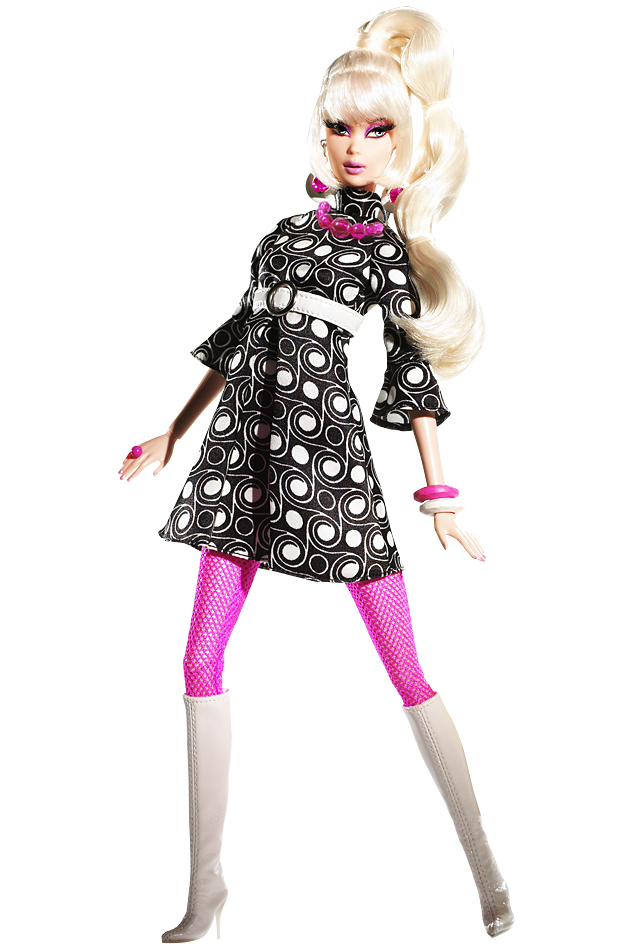 Pop Life™ Barbie® Doll Pop Culture Dolls - View Collectible Barbie Dolls  From Pop Culture Collections - Barbie Doll PNG Black And White