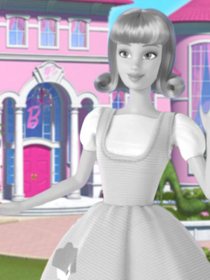Season 3; Season 4; Black and White - Barbie Doll PNG Black And White