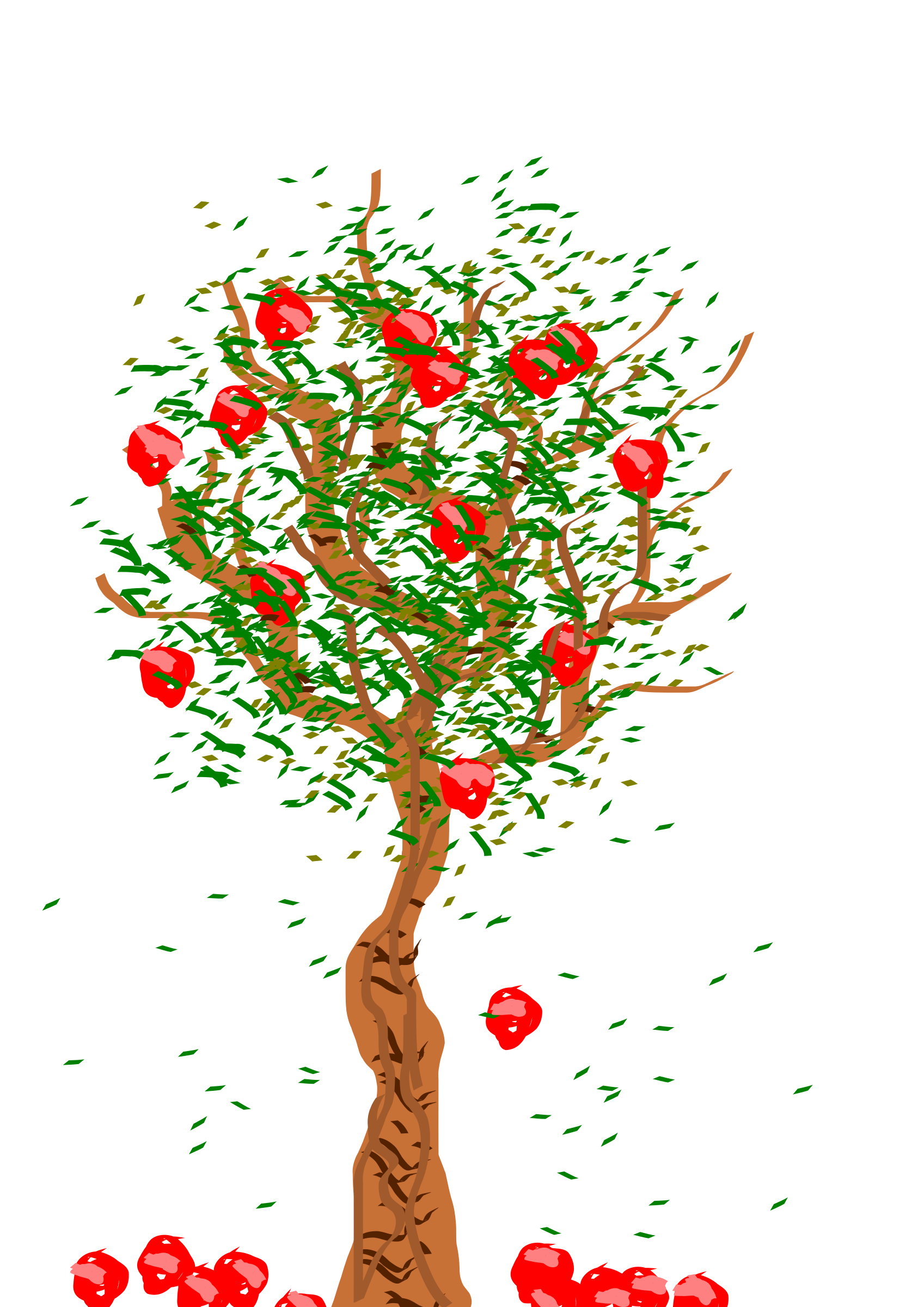 Apple Tree - Bare Apple Tree PNG