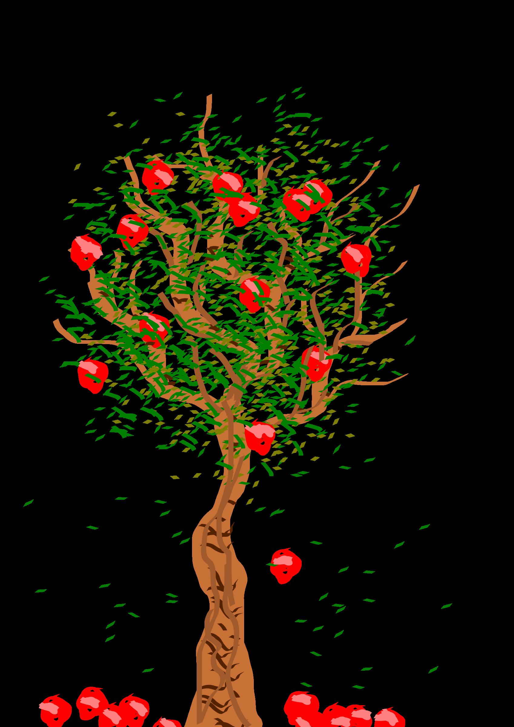 Apple Tree - Bare Apple Tree PNG