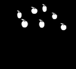 Apple Tree Clip Art - Bare Apple Tree PNG