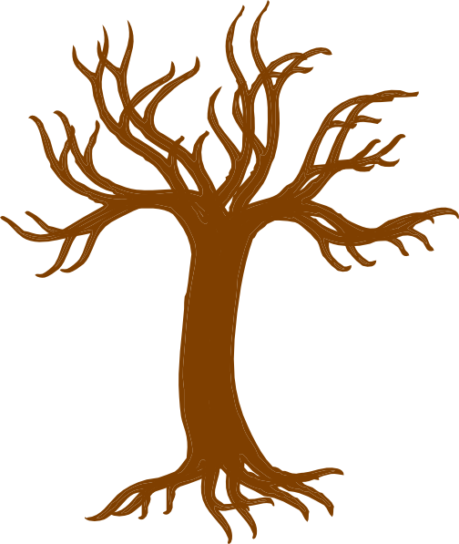 Download this image as: - Bare Apple Tree PNG