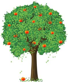 Tree Clipart, Picture Tree, Apple Tree, Book Journal, Tree Art, Art School,  Broccoli, Drawing Art, Disney Cars - Bare Apple Tree PNG