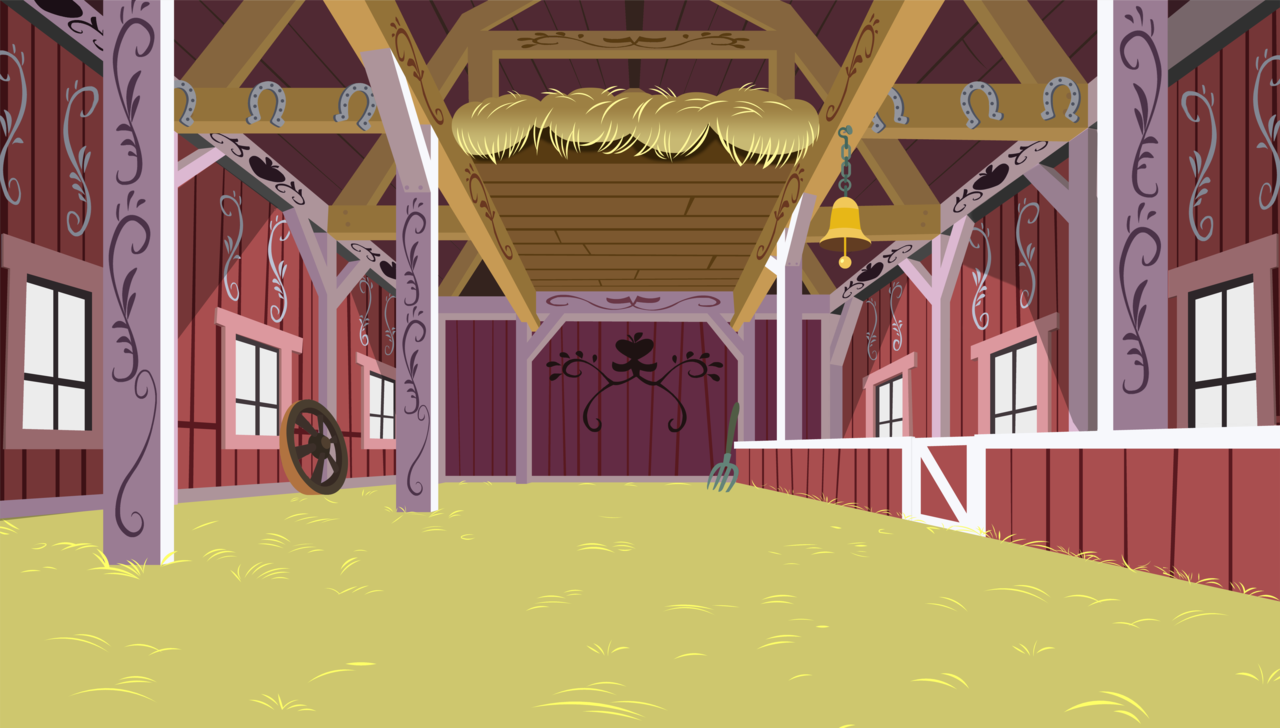 #381129 - absurd res, artist:bobthelurker, background, barn, no pony, safe,  sweet apple acres, vector - Derpibooru - My Little Pony: Friendship is  Magic PlusPng.com  - Barn Background PNG