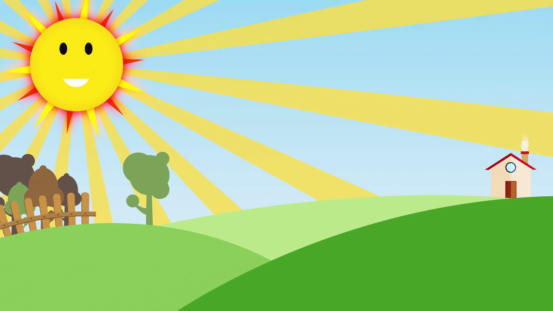 nature-background -for-kids-with-smiling-sun-seamless-loop-nice-cartoon-animation-of-colorful- farm-background-seamless-loop-with-space-for-your-text-or- PlusPng.com  - Barn Background PNG