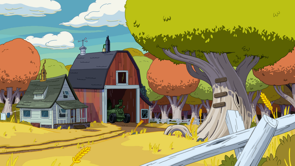 The Lich Farmworld background.png - Barn Background PNG