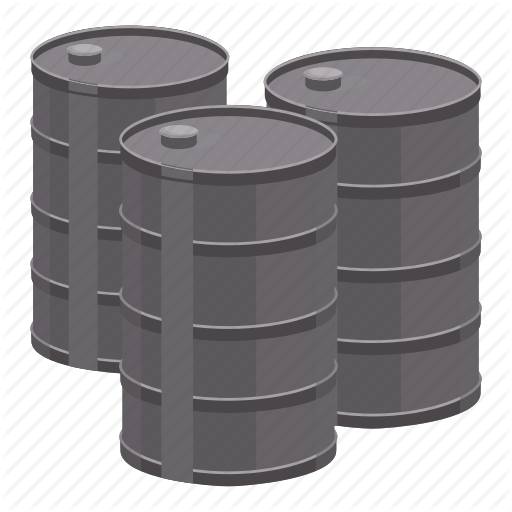 barrels, cartoon, fuel, gas, oil, petrol, pump icon - Barrel Of Oil PNG