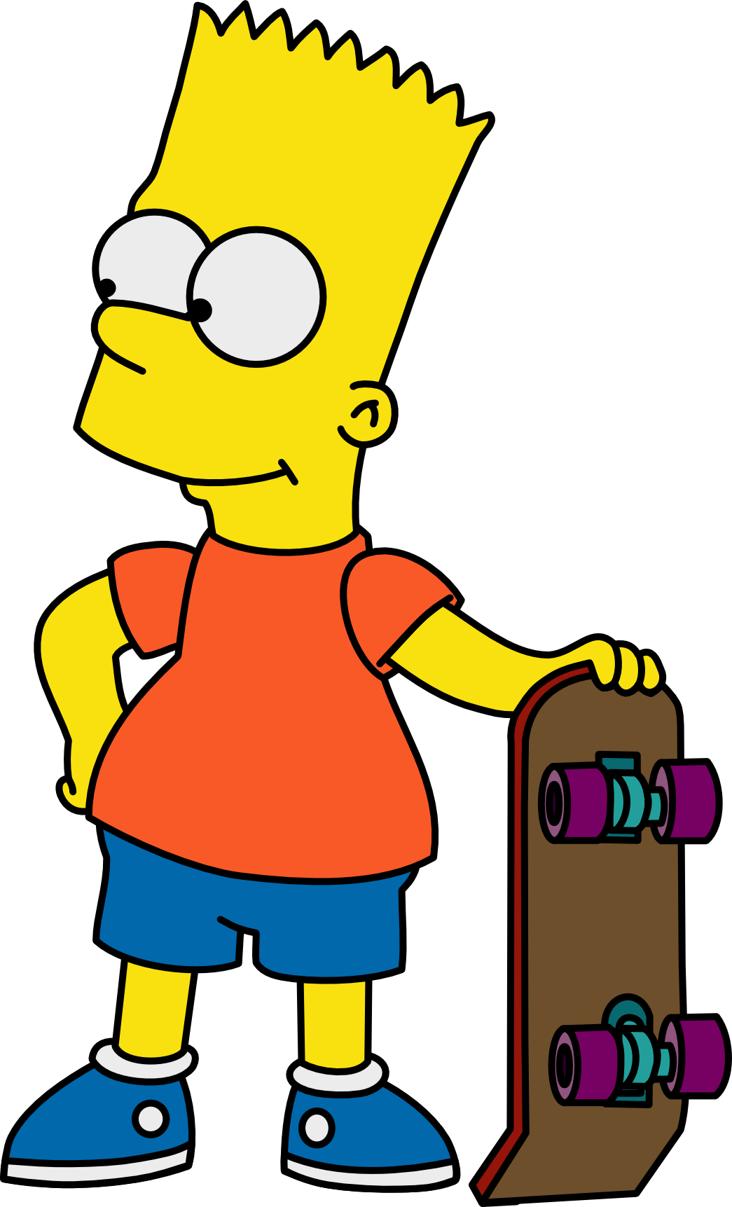 Bart Simpson Transparent PNG Image - Bart HD PNG