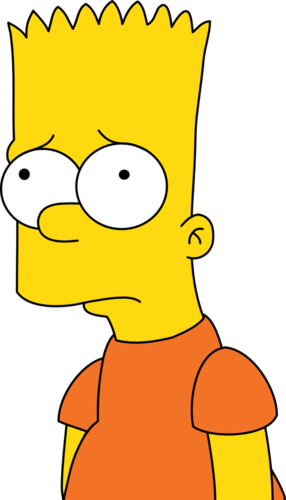 Bart Simpson wallpaper possibly containing anime titled bart simpson - Bart HD PNG