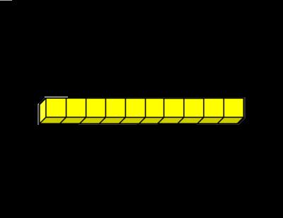 base 10 blocks clipart - Base Ten PNG