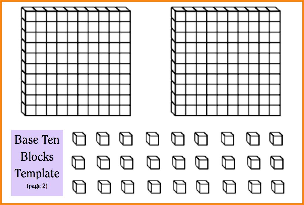 base-ten-blocks-printable-btb-template-p2-boy- - Base Ten PNG