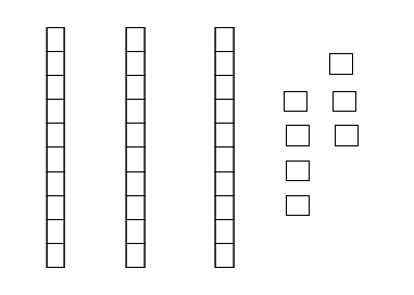 Base Ten Blocks Represent What Number Do The Base Ten Blocks Represent - Base Ten PNG