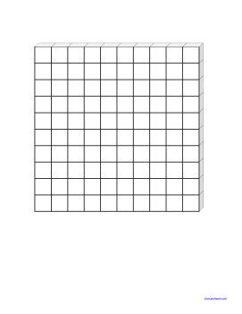 Large images of base ten blocks suitable for board use. Just print,  laminate and glue adhesive to the back. - Base Ten PNG
