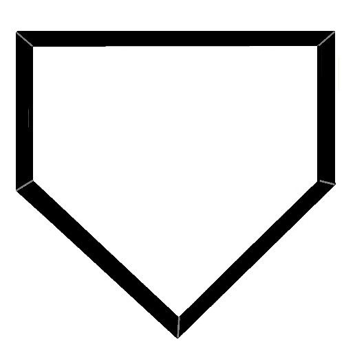 baseball base vector - Google