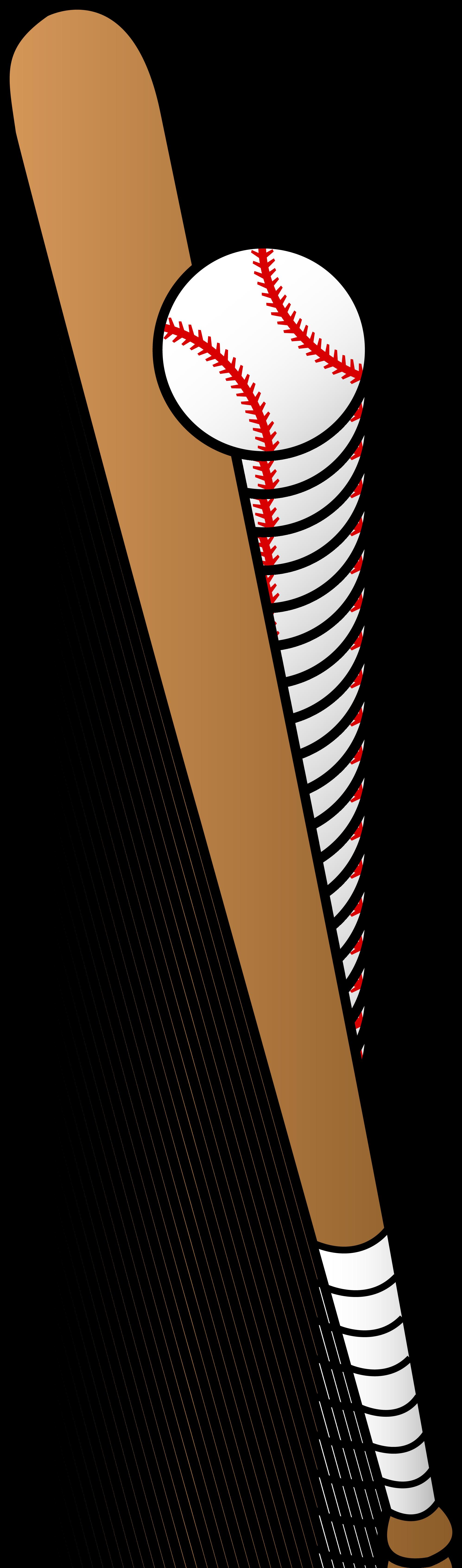 Baseball Bat Hitting Ball PNG - 50001