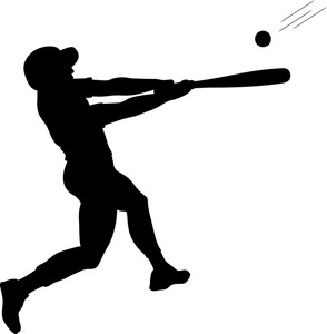 Baseball Bat Hitting Baseball - Baseball Bat Hitting Ball PNG