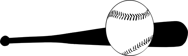 Download this image as: - Baseball Bat Hitting Ball PNG