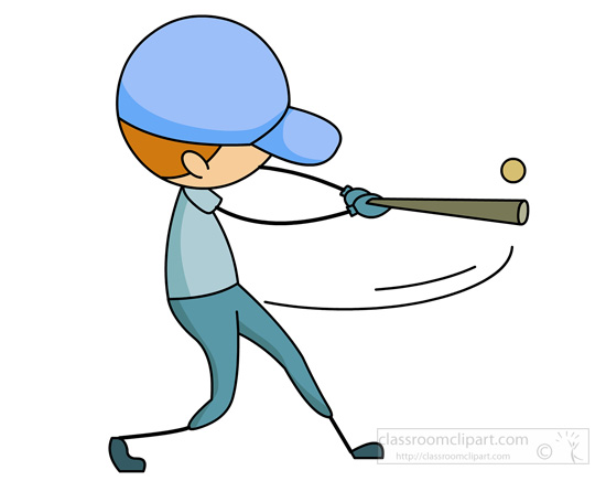hit ball clipart - Baseball Bat Hitting Ball PNG