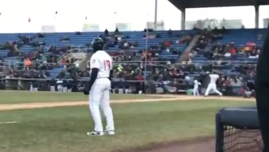 VIDEO: Tim Tebow Drills a Three-Run Bomb in First At-Bat in Double-A | 12up - Baseball Bomb PNG