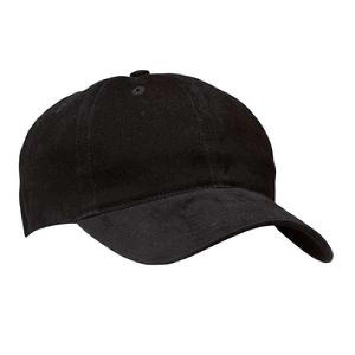 Black Low Profile Baseball Cap - Baseball Cap PNG