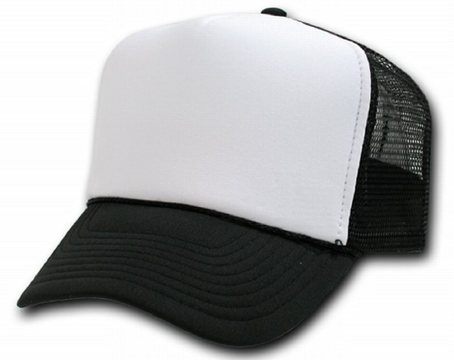 Amazon pluspng.com: DECKY Two Tone Trucker Mesh Caps Plain Baseball Hat: Clothing - Baseball Hat PNG Front