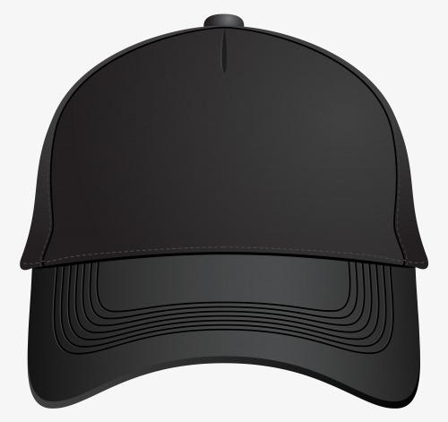 black baseball cap front, Black, Baseball Caps, Positive PNG Image and  Clipart - Baseball Hat PNG Front